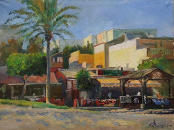 """""""Ресторан El Deo, Испания"""". Холст, масло. 70х90 см"""